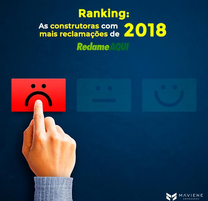 Ranking: As construtoras com mais reclamações de 2018