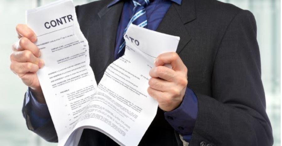 motivos para a rescisão de contrato imobiliário